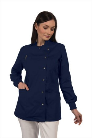 Casacca Maia - 100% cotone blu notte