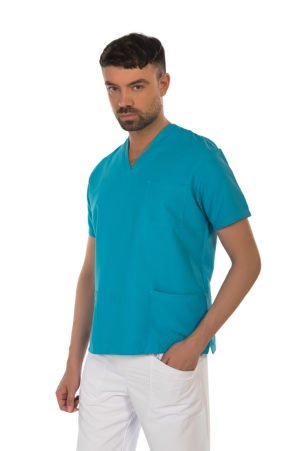 Casacca Smart Turquoise - NO STIRO
