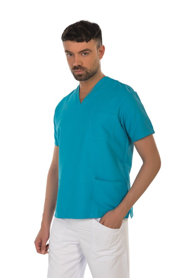 Casacca Smart Turquoise - NO STIRO