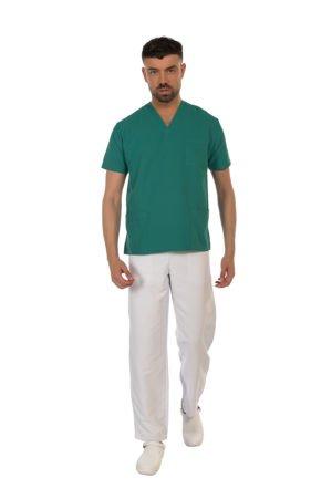pantalone fast white