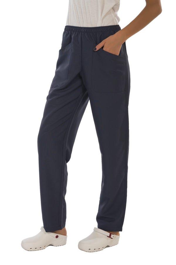 Pantalone Fast dark blue no iron