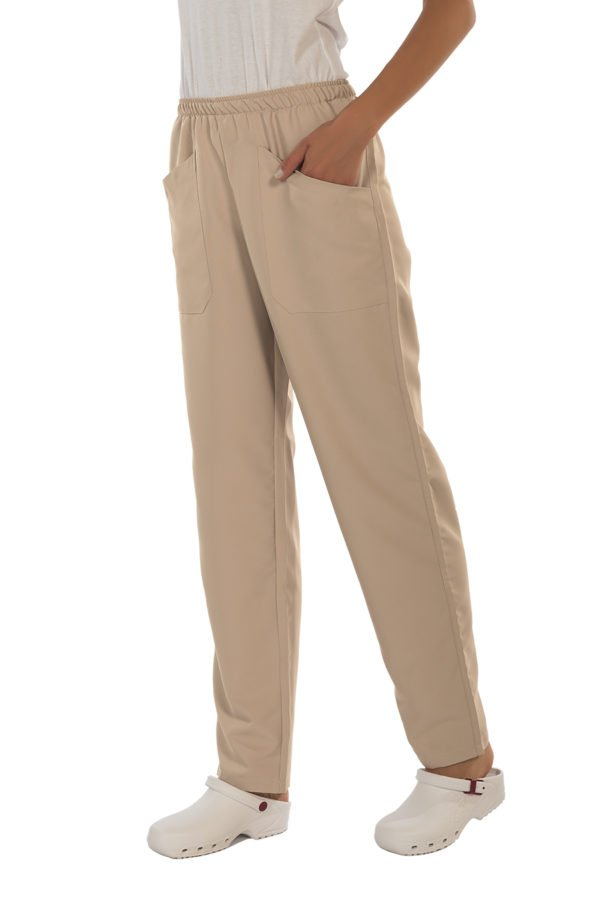 Pantalone Fast beige no stiro